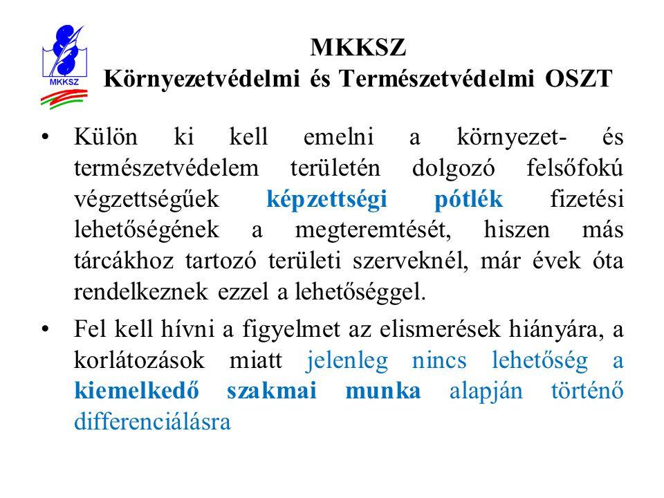 MKKSZ Környezetvédelmi és Természetvédelmi OSZT Dr.