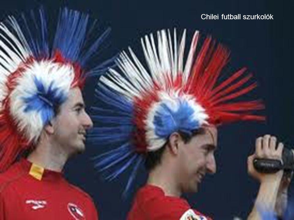 Chilei futball szurkolók