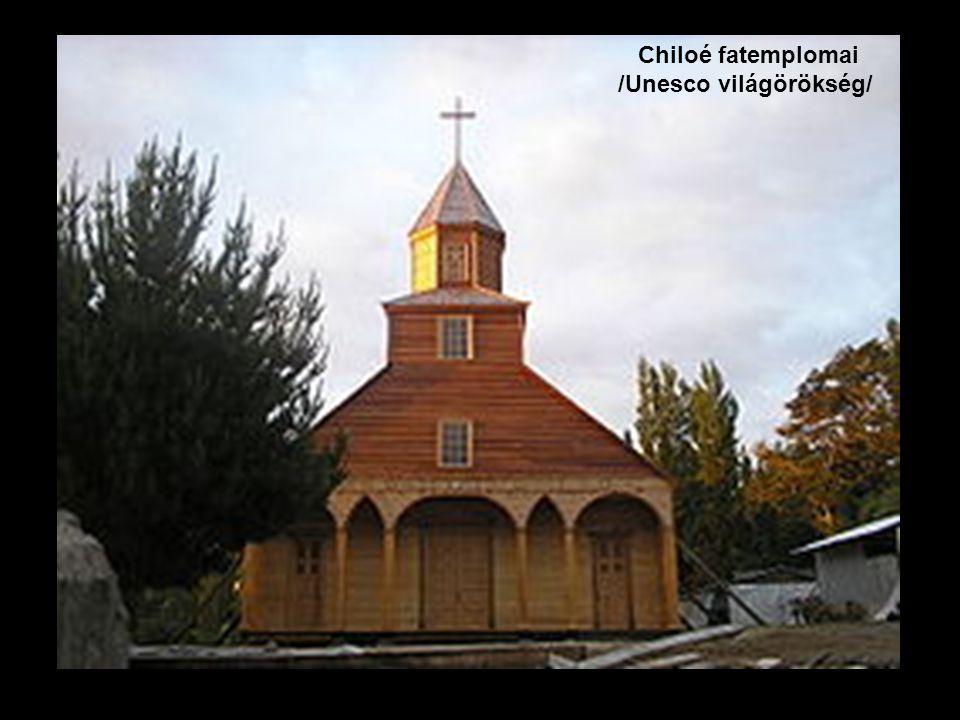 Chiloé fatemplomai /Unesco világörökség/