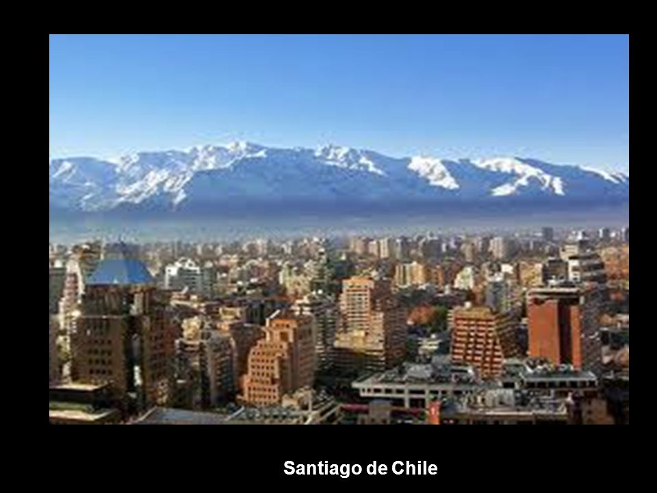 Santiago látkép
