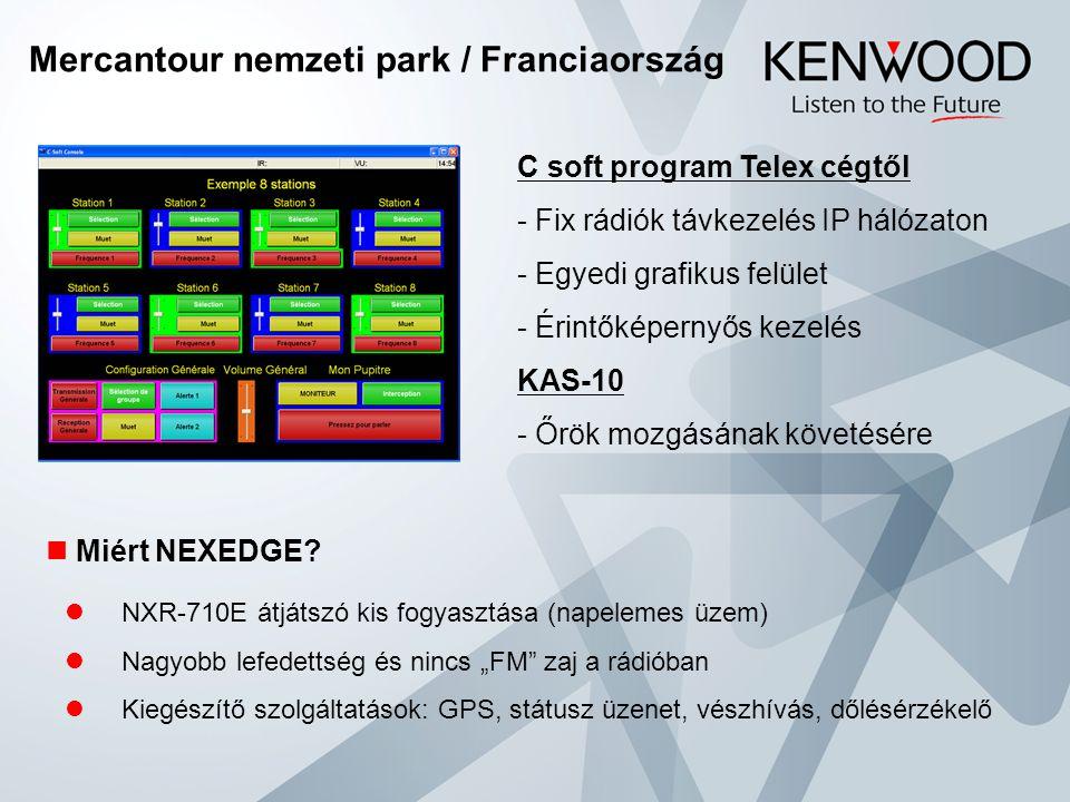 """Mercantour nemzeti park / Franciaország  Miért NEXEDGE?  NXR-710E átjátszó kis fogyasztása (napelemes üzem)  Nagyobb lefedettség és nincs """"FM"""" zaj"""