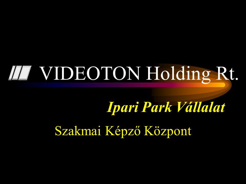 Ipari Park Vállalat Szakmai Képző Központ VIDEOTON Holding Rt.