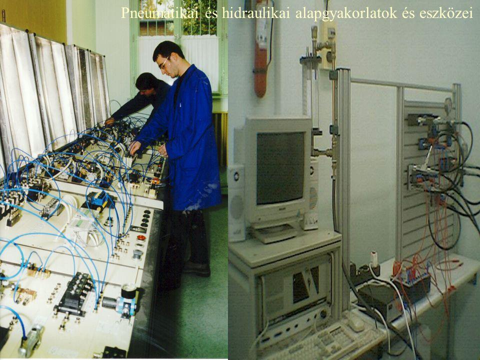 Pneumatikai és hidraulikai alapgyakorlatok és eszközei