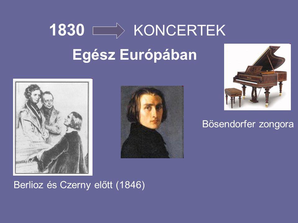 1827- Párizs Chopin Paganini Berlioz Barátok