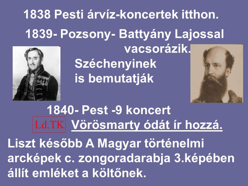 1830 KONCERTEK Egész Európában Bösendorfer zongora Berlioz és Czerny előtt (1846)