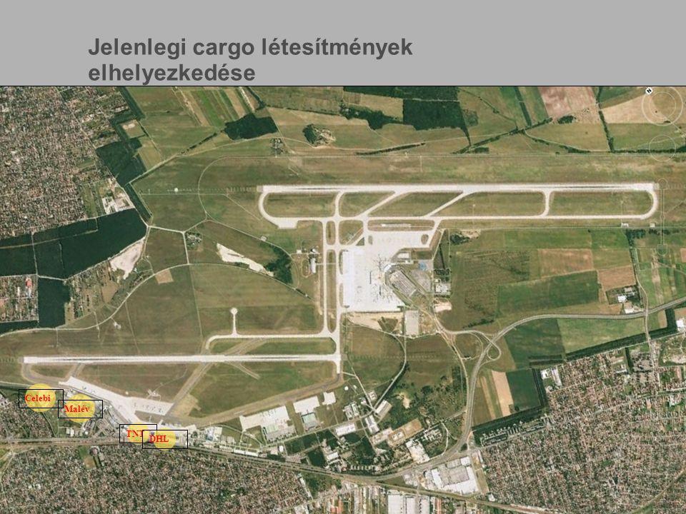 www.bu d.hu Page 5 Celebi Malév TNT DHL Jelenlegi cargo létesítmények elhelyezkedése