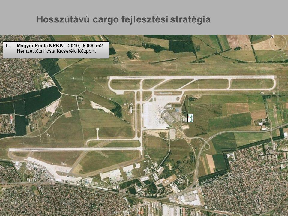 www.bu d.hu Page 8 I -Magyar Posta NPKK – 2010, 5 000 m2 Nemzetközi Posta Kicserélő Központ Hosszútávú cargo fejlesztési stratégia