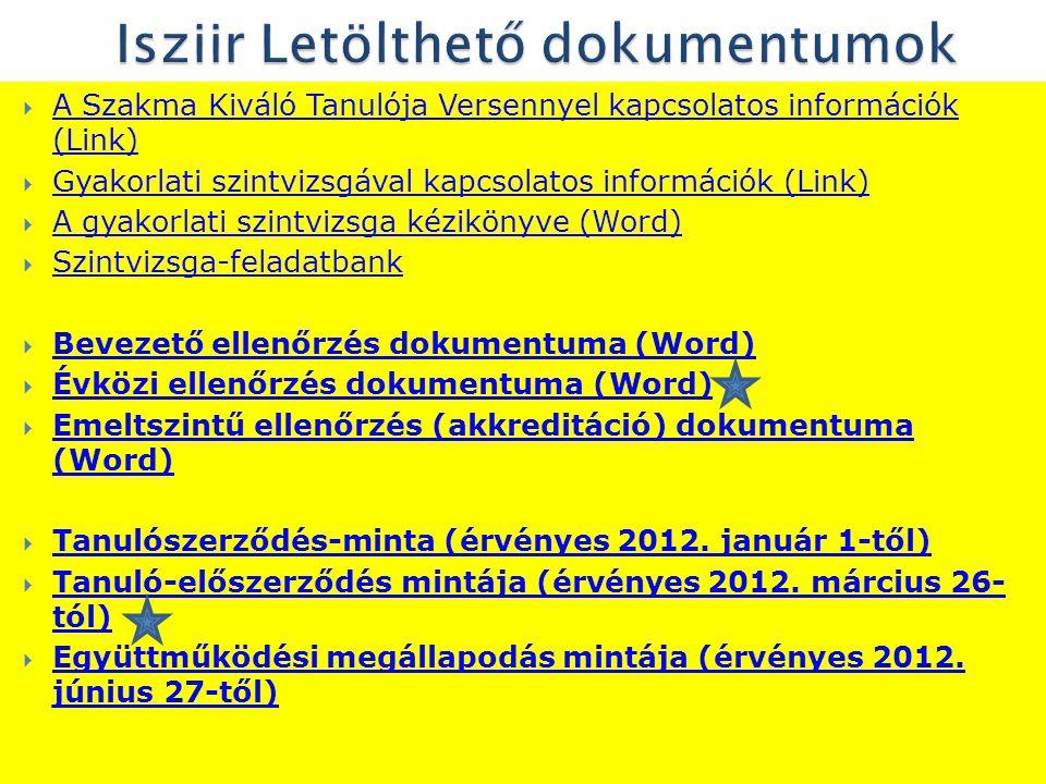 Sonyák Béláné szakképzési osztályvezető JNSZMKIK 5000 Szolnok, Verseghy Park 8.