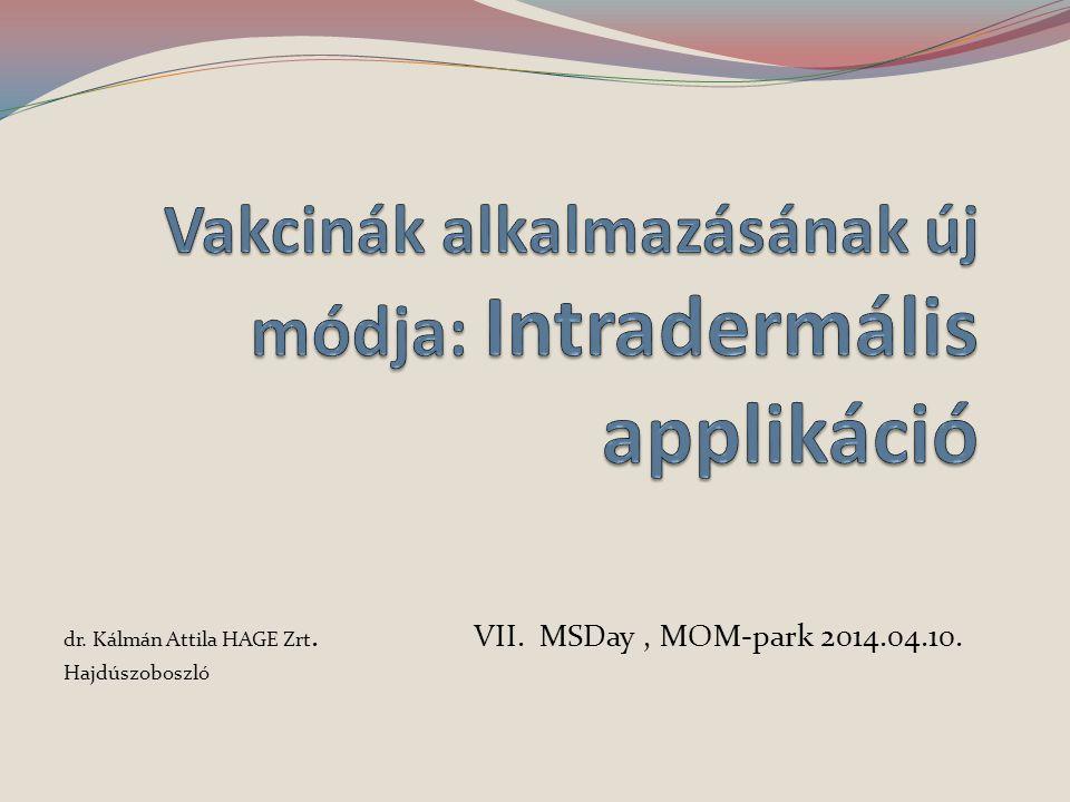 dr. Kálmán Attila HAGE Zrt. VII. MSDay, MOM-park 2014.04.10. Hajdúszoboszló