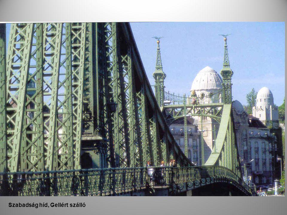 Szabadság híd, Gellért szálló