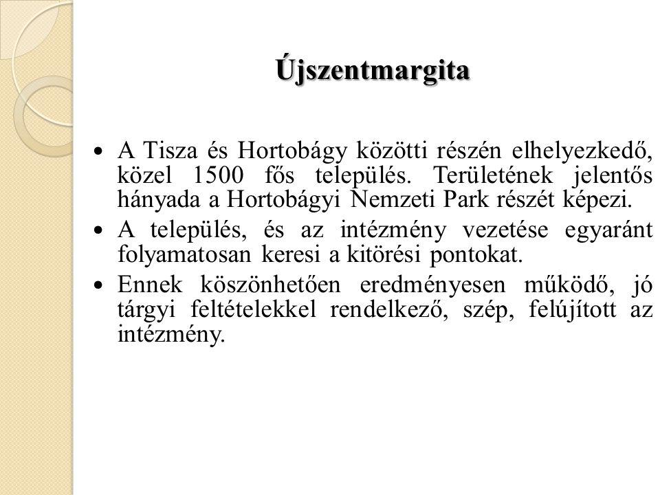 Újszentmargita  A Tisza és Hortobágy közötti részén elhelyezkedő, közel 1500 fős település. Területének jelentős hányada a Hortobágyi Nemzeti Park ré