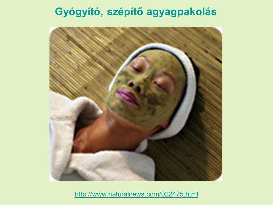 Gyógyító, szépítő agyagpakolás http://www.naturalnews.com/022475.html