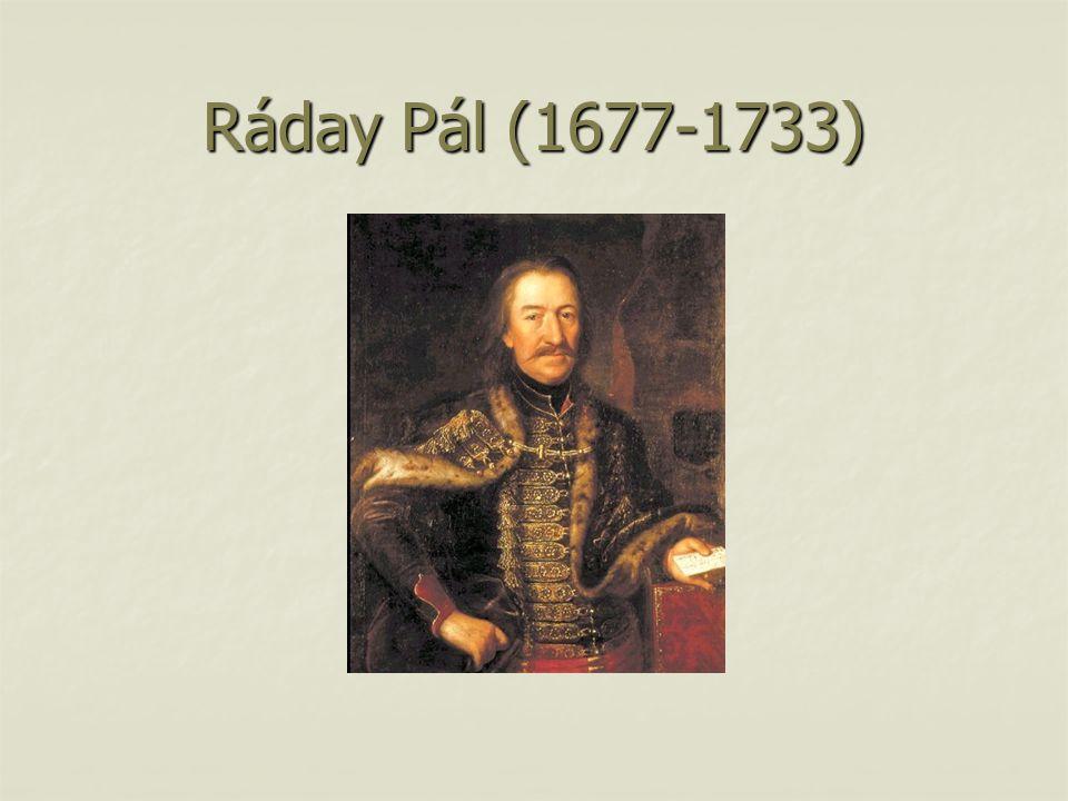 Ráday Pál (1677-1733)