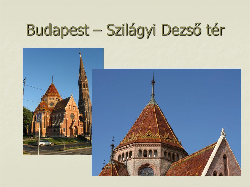 Budapest – Szilágyi Dezső tér