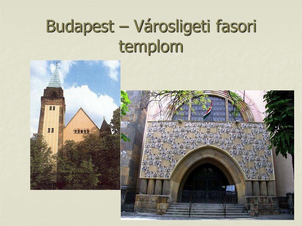 Budapest – Városligeti fasori templom