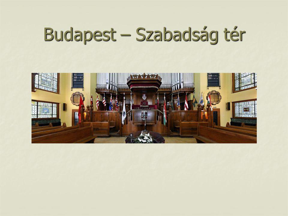 Budapest – Szabadság tér