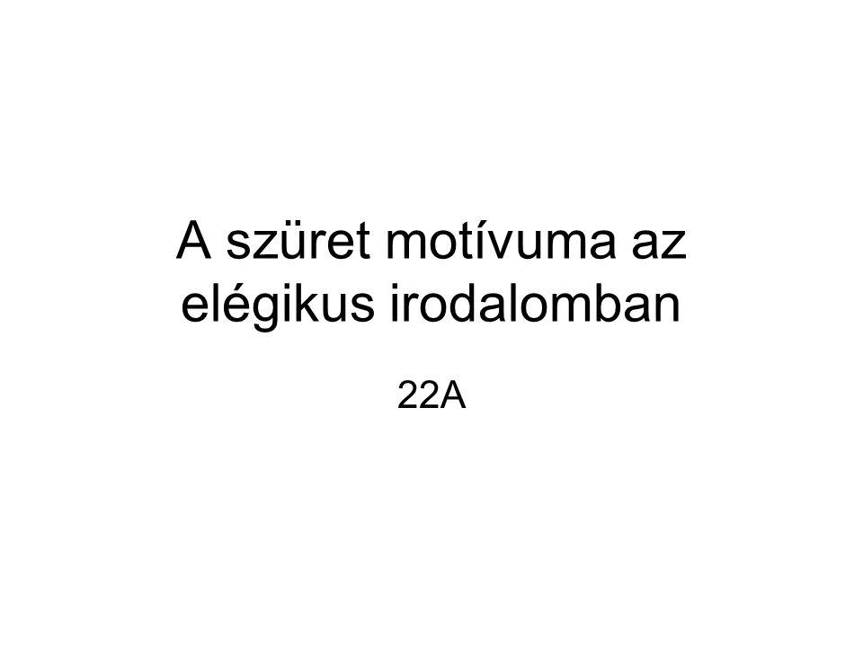 A szüret motívuma az elégikus irodalomban 22A