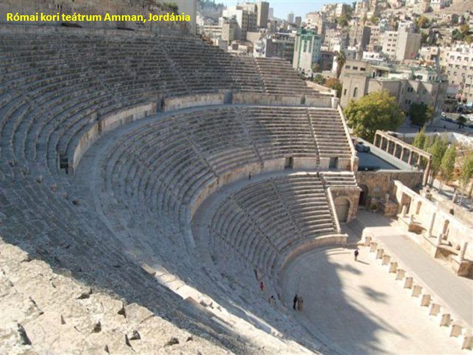 Római kori teátrum Amman, Jordánia