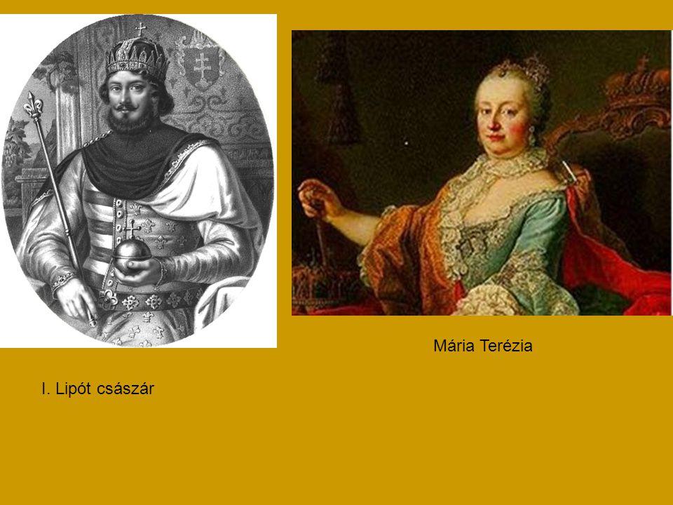 I. Lipót császár Mária Terézia