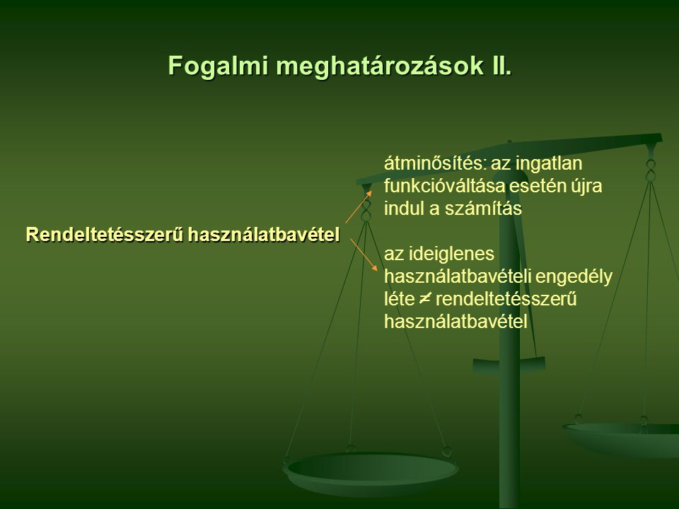 Fogalmi meghatározások III.Építési telek: -az Áfa-tv.
