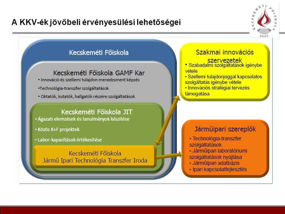 11 A KKV-ék jövőbeli érvényesülési lehetőségei