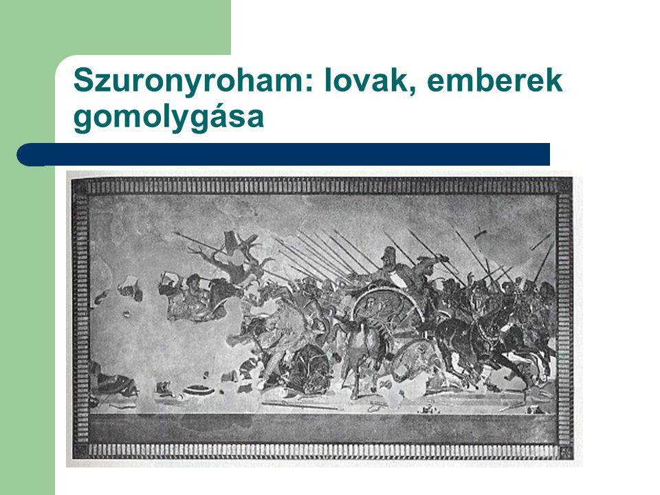 """Lovasroham: """"szép tömeges rend"""