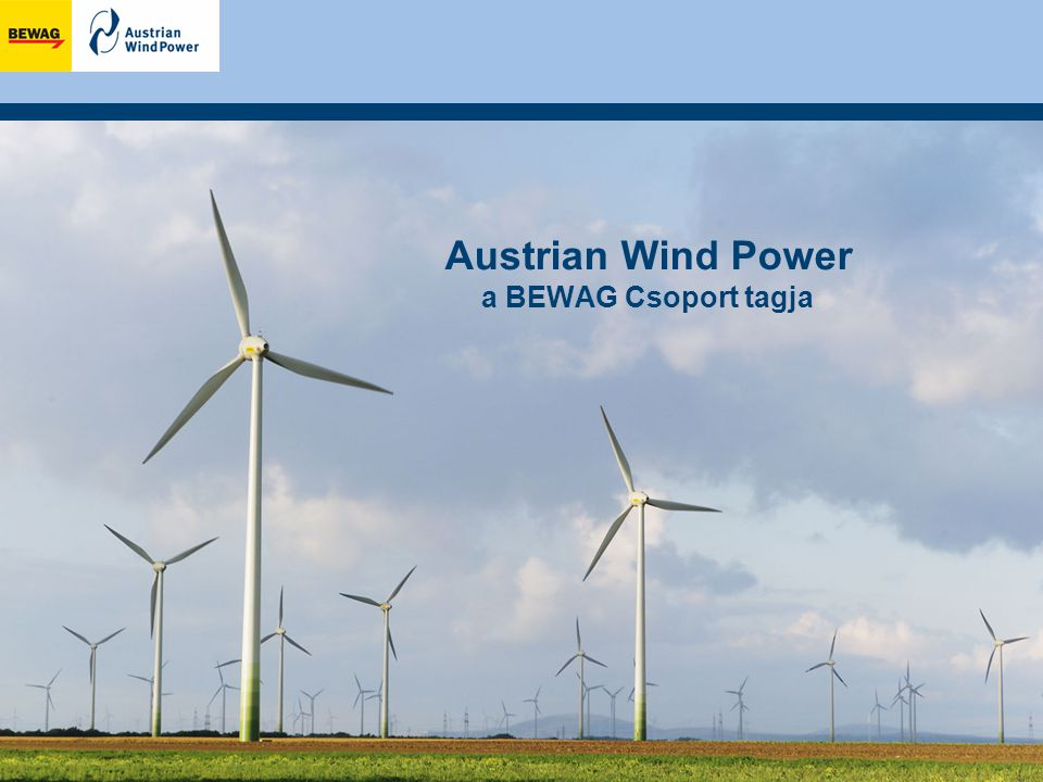 Austrian Wind Power a BEWAG Csoport tagja