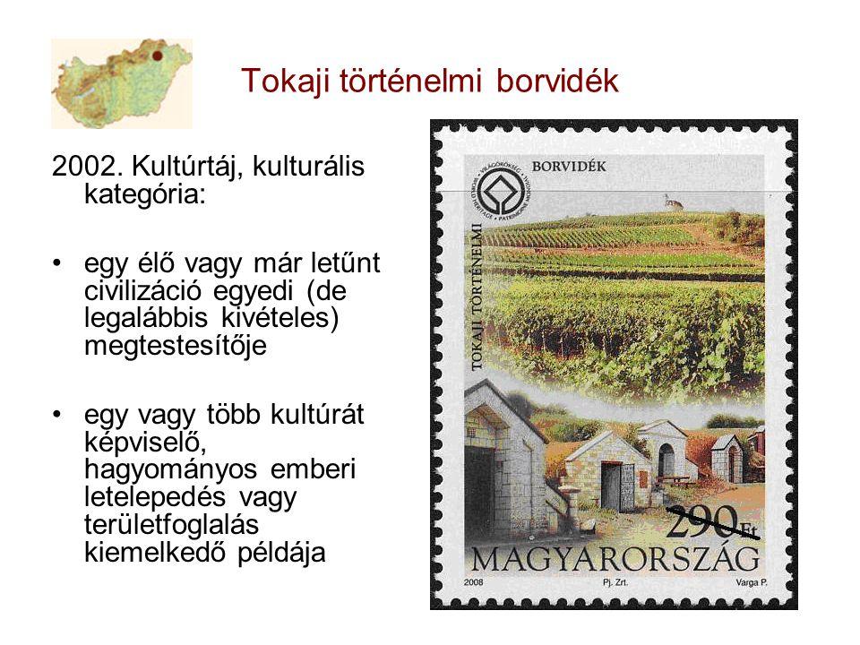 Tokaji történelmi borvidék 2002.