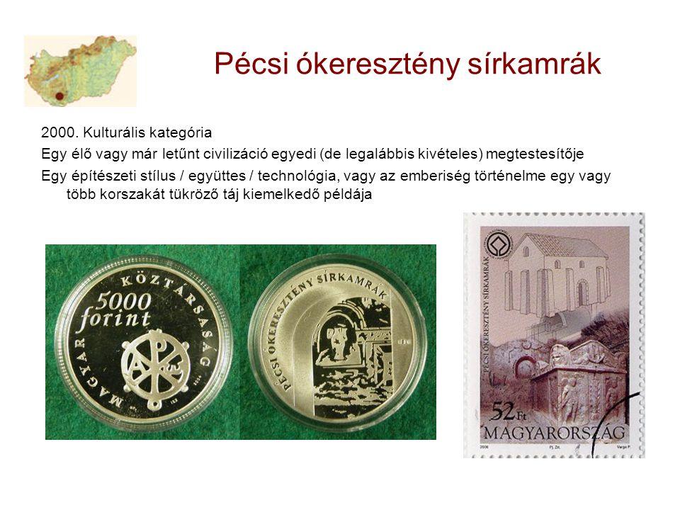 Pécsi ókeresztény sírkamrák 2000.