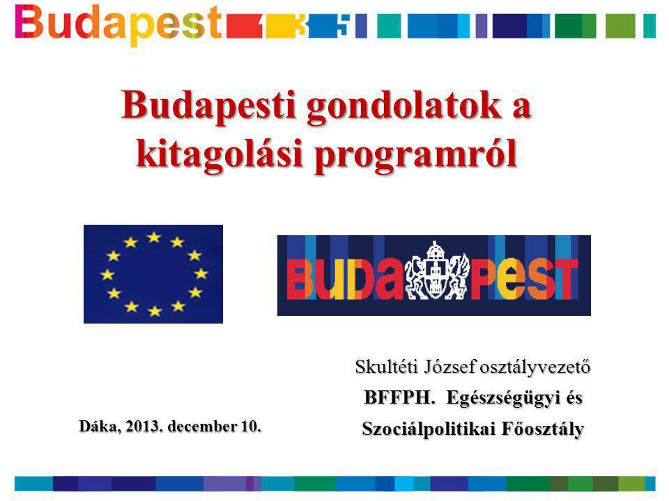 """Fogyatékkal élők fővárosi gondozása • Budapest helyzete (1945; arányok) • """"Történelmi hagyomány (feladat, épületek) • A nagylétszámú intézmények kialakulása és a szakma- fejlesztési elképzelések (közelítés: Máriapócs vs."""