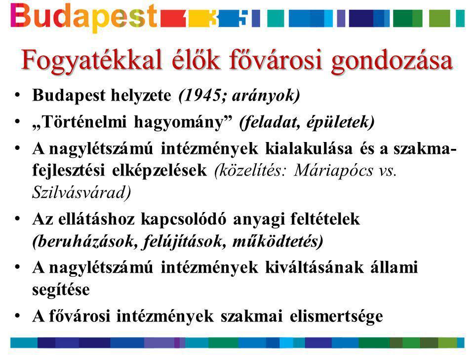 A kitagolási program Budapesten.III. • Miért is nem pályázhattunk.