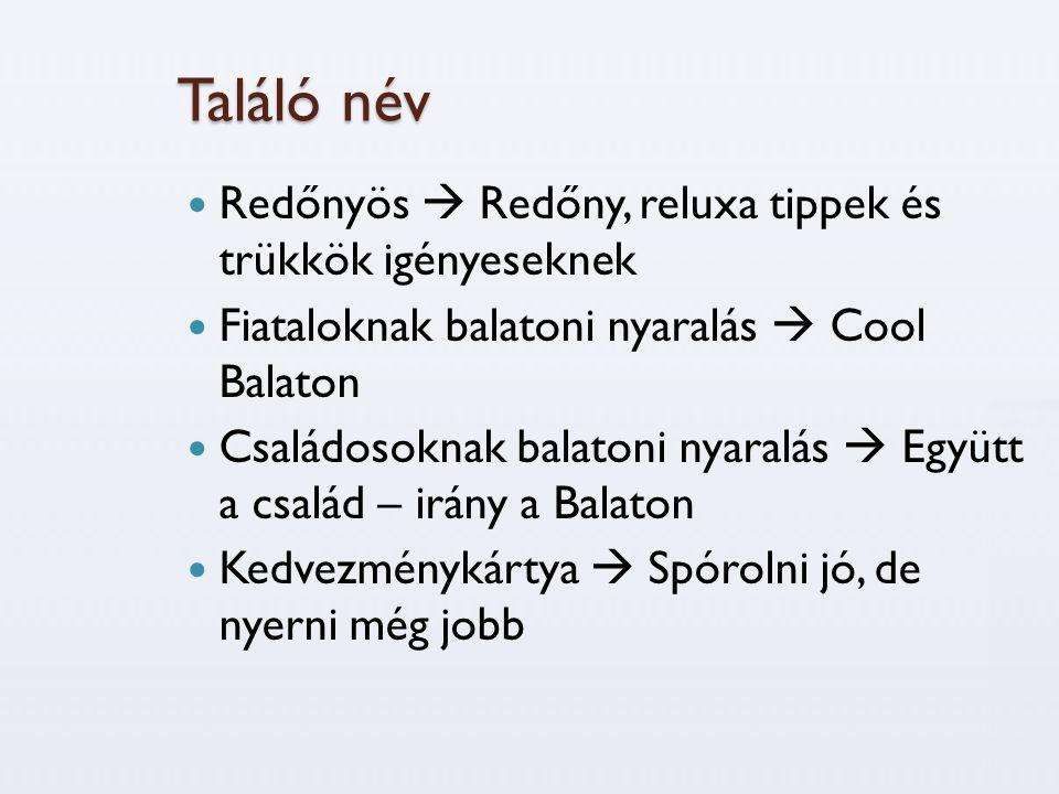 Találó név  Redőnyös  Redőny, reluxa tippek és trükkök igényeseknek  Fiataloknak balatoni nyaralás  Cool Balaton  Családosoknak balatoni nyaralás