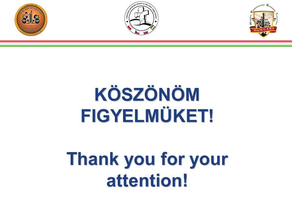 KÖSZÖNÖM FIGYELMÜKET! Thank you for your attention!