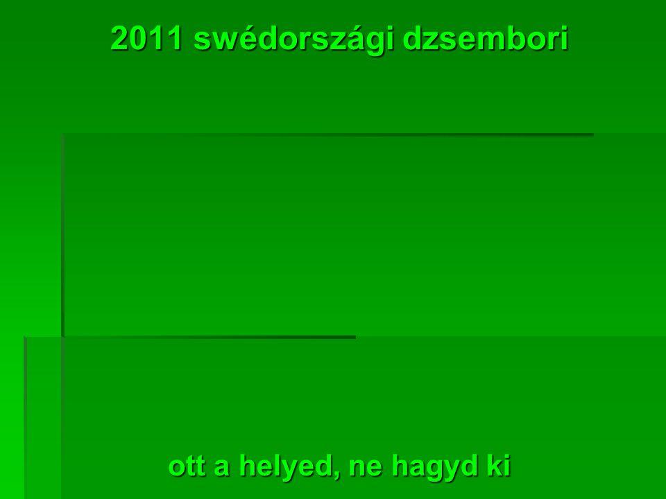 2011 swédországi dzsembori ott a helyed, ne hagyd ki
