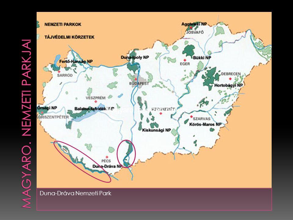 Duna-Dráva Nemzeti Park Magyaro. nemzeti parkjai