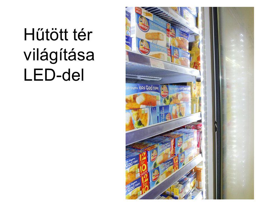 Hűtött tér világítása LED-del