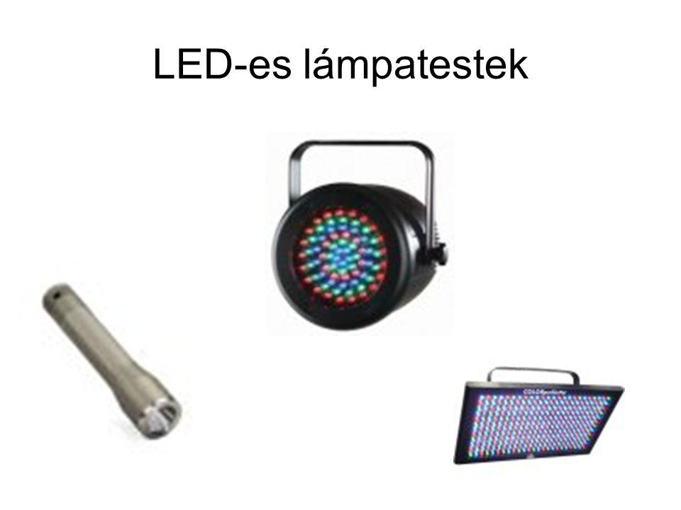 LED-es lámpatestek