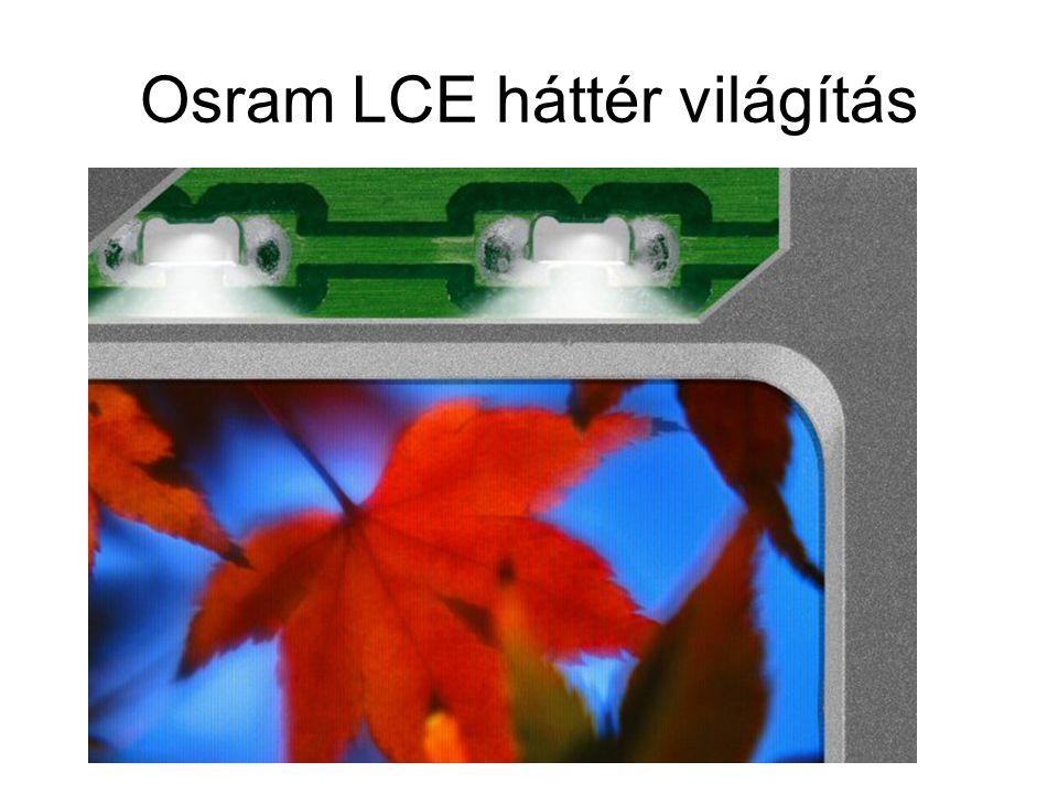 Osram LCE háttér világítás