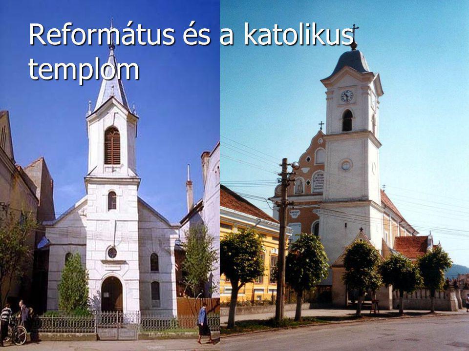 Református és a katolikus templom