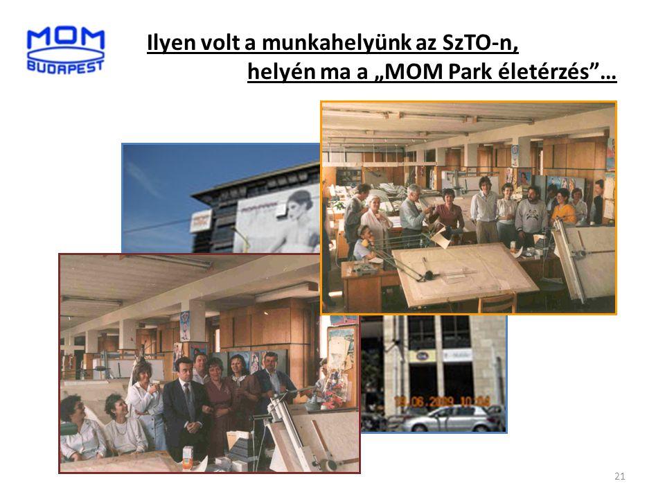 """21 Ilyen volt a munkahelyünk az SzTO-n, helyén ma a """"MOM Park életérzés""""…"""