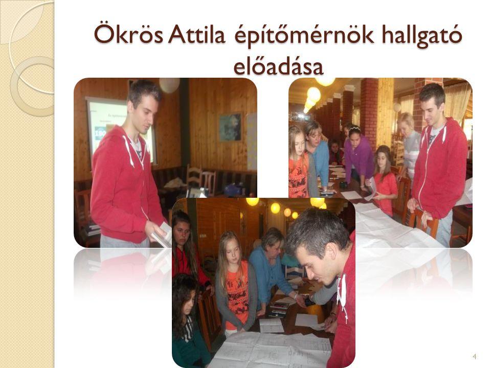 Ökrös Attila építőmérnök hallgató előadása 4