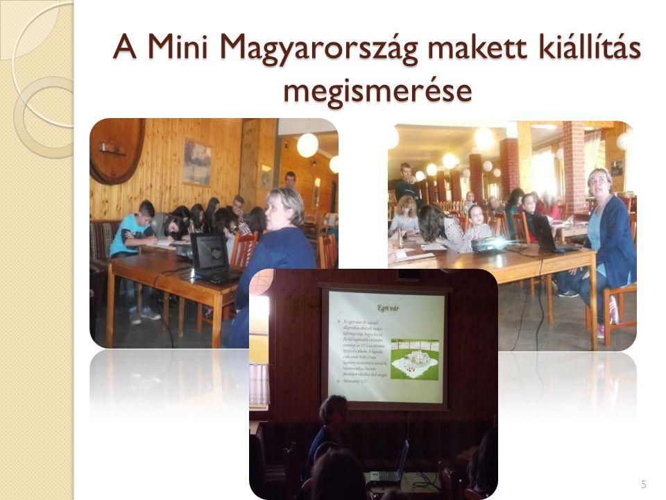 A Mini Magyarország makett kiállítás megismerése 5