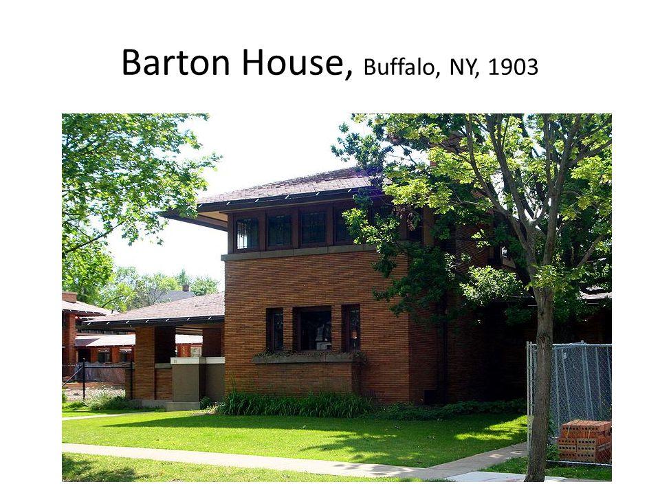 Barton House, Buffalo, NY, 1903