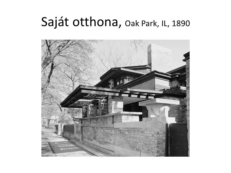 Saját otthona, Oak Park, IL, 1890