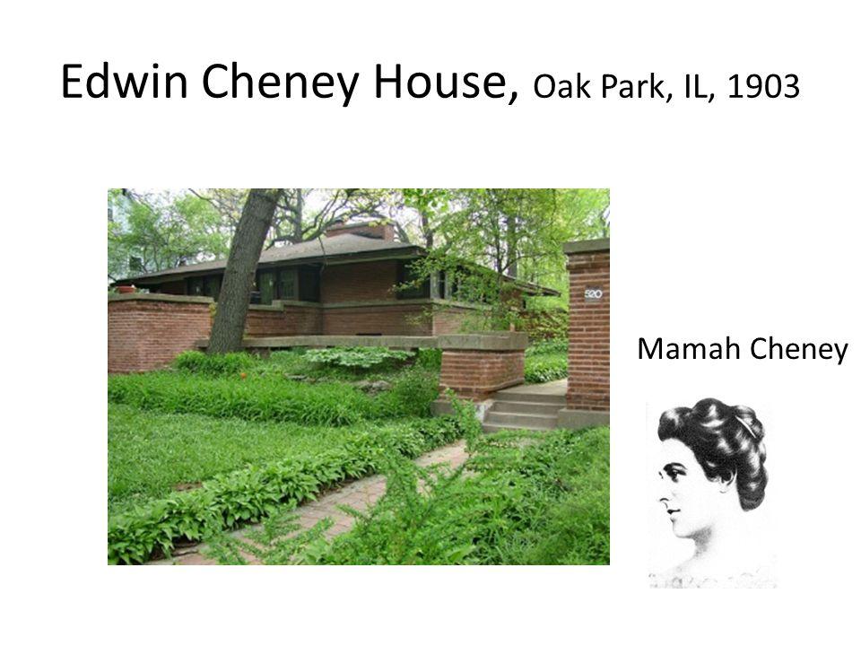 Edwin Cheney House, Oak Park, IL, 1903 Mamah Cheney