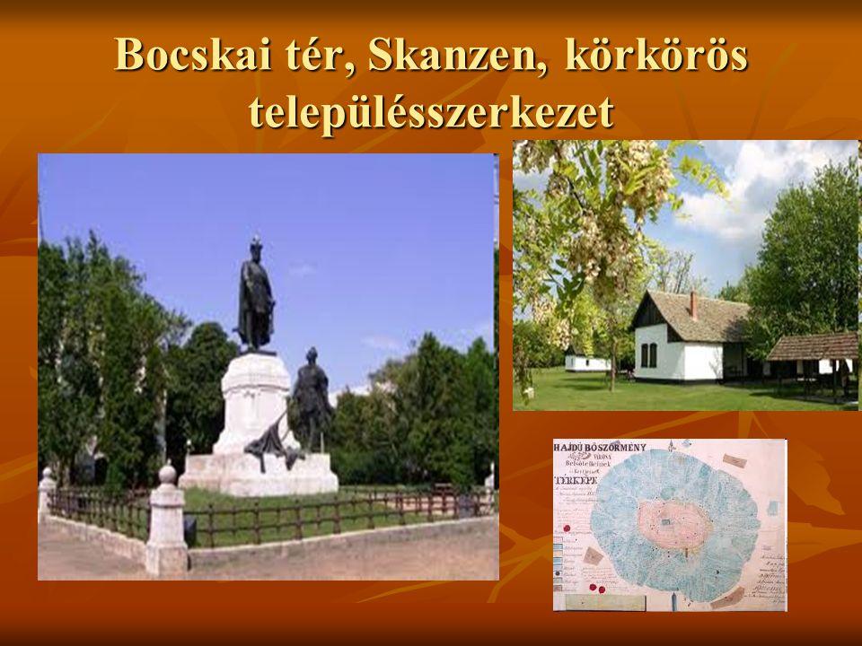 Bocskai tér, Skanzen, körkörös településszerkezet