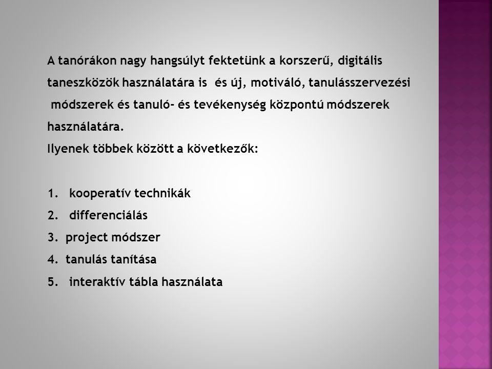Oktatási anyagok A 4.