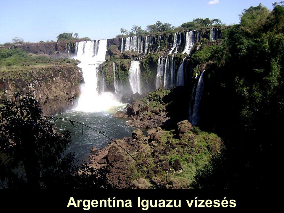 Argentína Iguazu vizesés