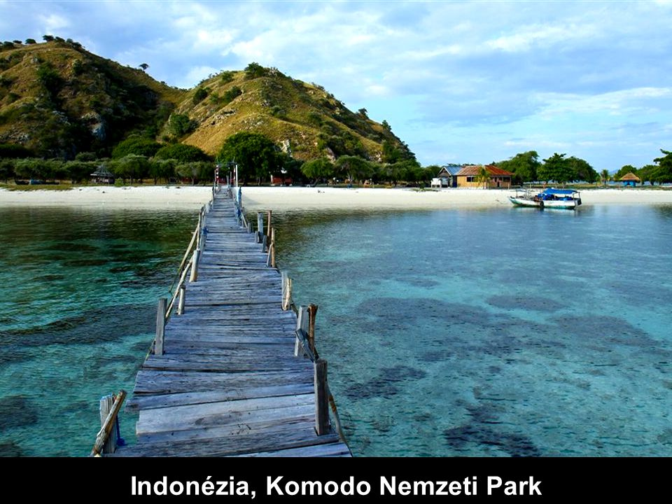 Indonézia, Komodo Nemzeti Park.