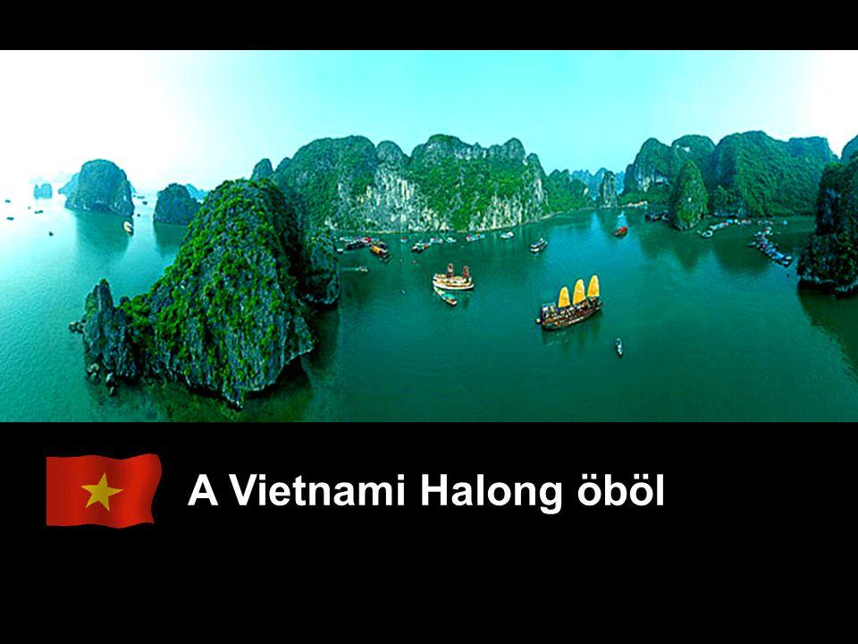 A Vietnami Halong öböl